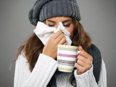 Наступление холодов ассоциируется с простудами