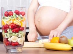 При беременности нужно соблюдать диету