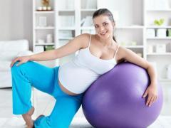 Беременным женщинам помогают специальные упражнения