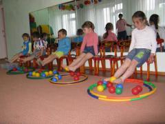 Профилактика плоскостопия в детском саду