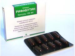 Рифабутин поможет при туберкулезе