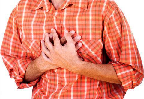 Колит в области сердца