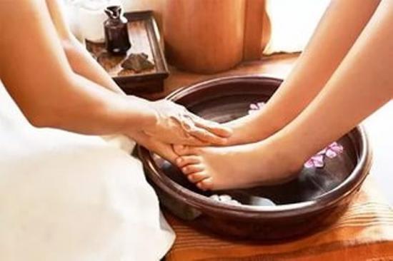 ванночки для сухой кожи ног