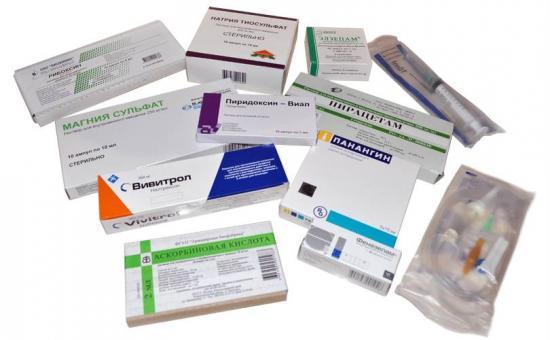 лекарства при похмелье