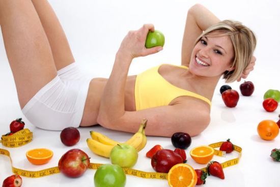 правильное питание, овощи и фрукты