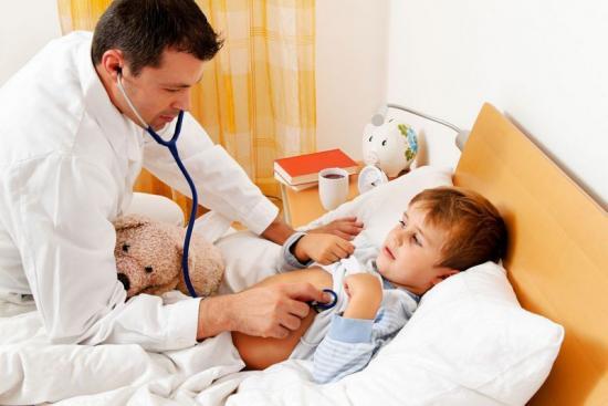 увеличение лимфоузлов у детей на шее