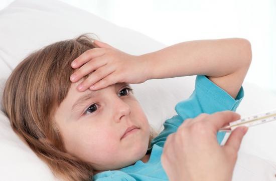 симптомы ОРЗ у детей