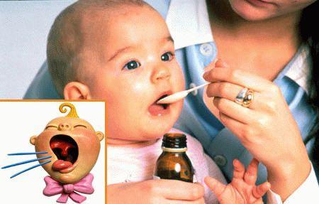 лечение кашля  удетей