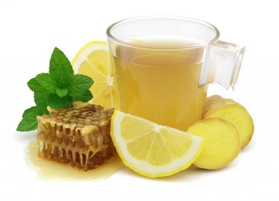 лимонно имбирный напиток