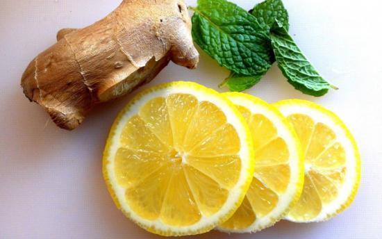 лимон и имбирь от простуды