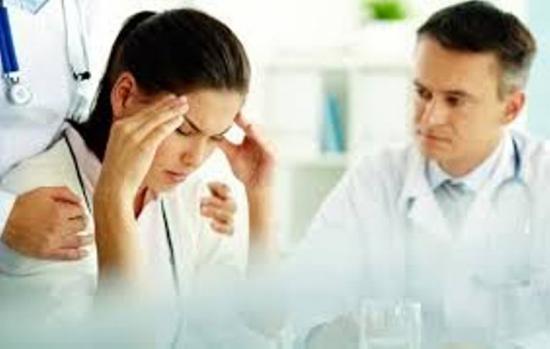 сильная головная боль в висках