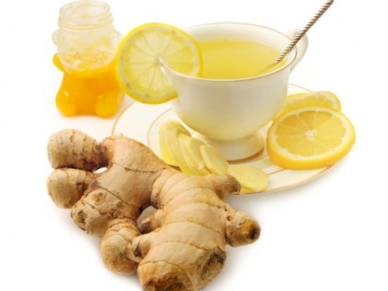 чай из имбиря с медом