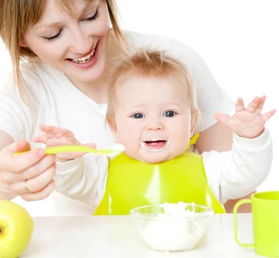 творог и кефир домашнего приготовления для ребенка 7 месяцев