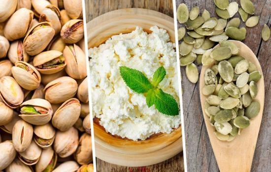белки и аминокислоты в продуктах