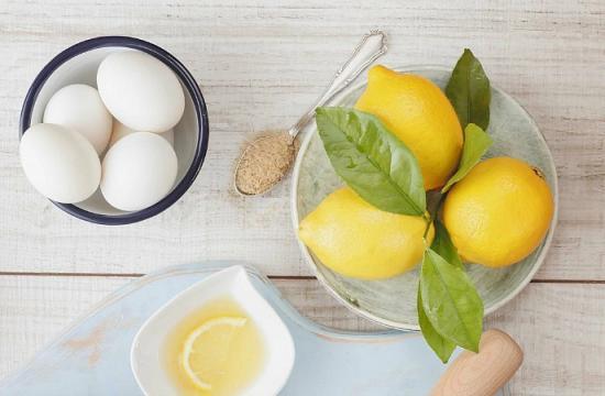маская медом, белком, лимоном