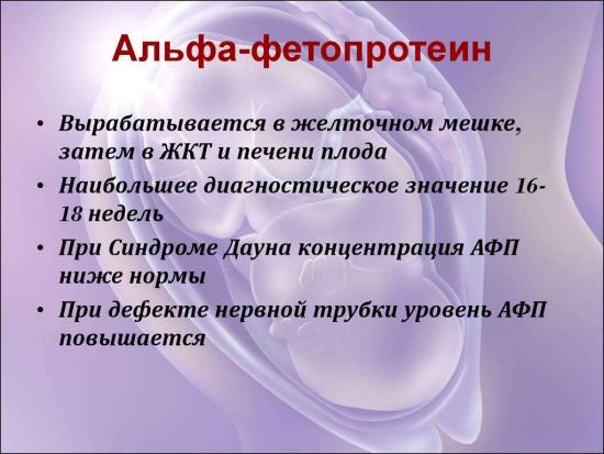 Альфа-фетопротеин