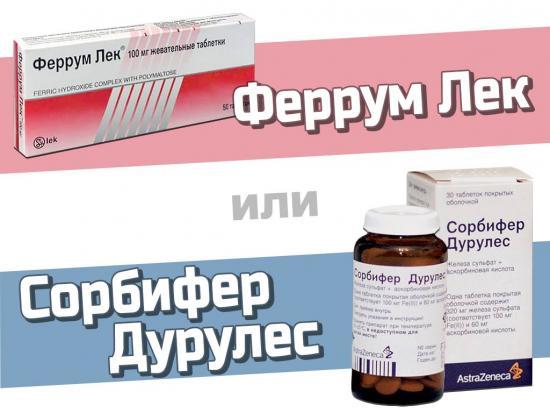 лекарства для повышения гемоглобина