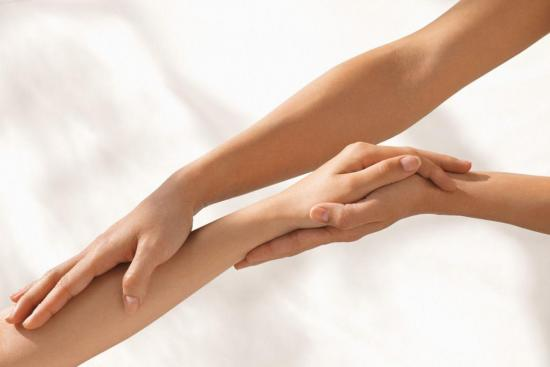 массаж руки после янятия гипса