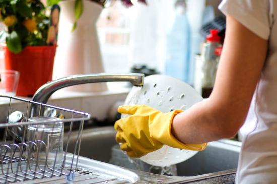 защита рук от моющих средств