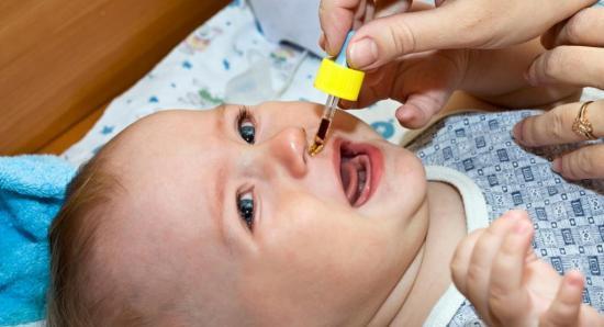 лечение насморка у ребенка до года