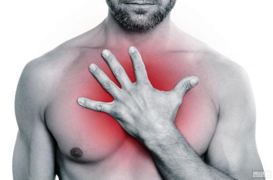 боль медду грудями при заболеваниях сердца