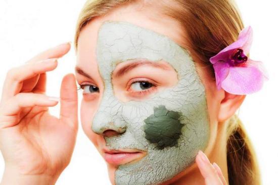 маски из глины от подкожных прыщей на лице