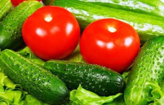 Диета огрурцы, помидоры, кефир