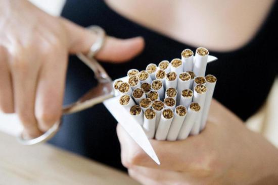 Избавиться от никотиновой
