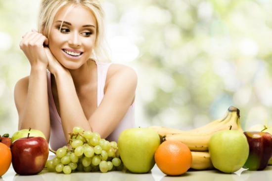Правильное питание обеспечивает поступление необходимых витаминов