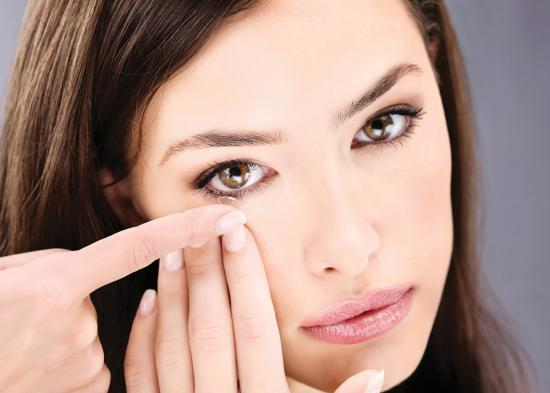 Жесткие линзы используются только по рекомендации офтальмолога