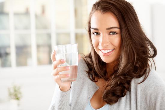 Воду что поделаешь потреблять соответственно норме