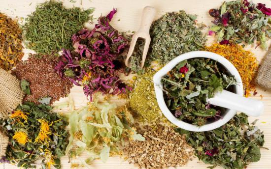 Слабительные травы также помогают очистке кишечника
