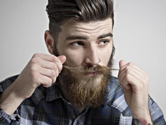 Рост бороды осуществляется постепенно
