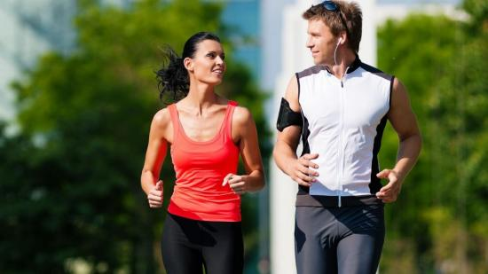 Бег способствует уменьшению сокращений сердца
