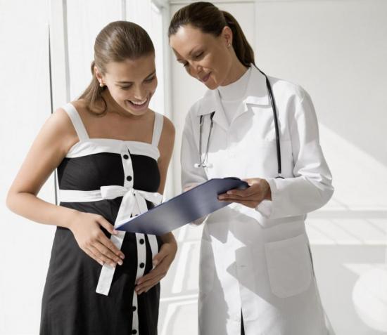 При планировании беременности врач может обнаружить изменение гормонального фона