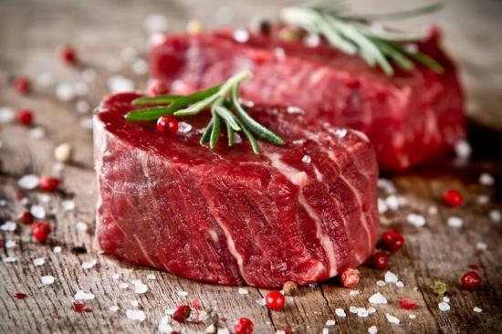 Много цинка содержится в красном мясе