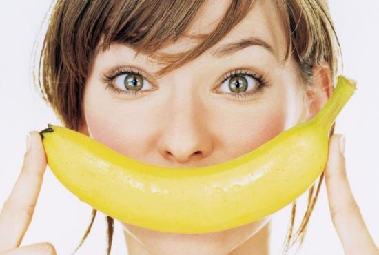 Полезно есть именно спелые бананы