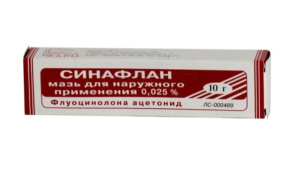 Лечение псориаза мазями