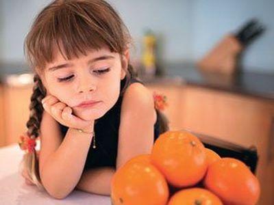 аллергия на цитрусовые симптомы