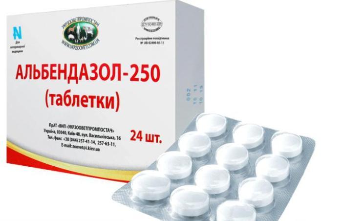 лекарства от гельминтов для детей двух лет