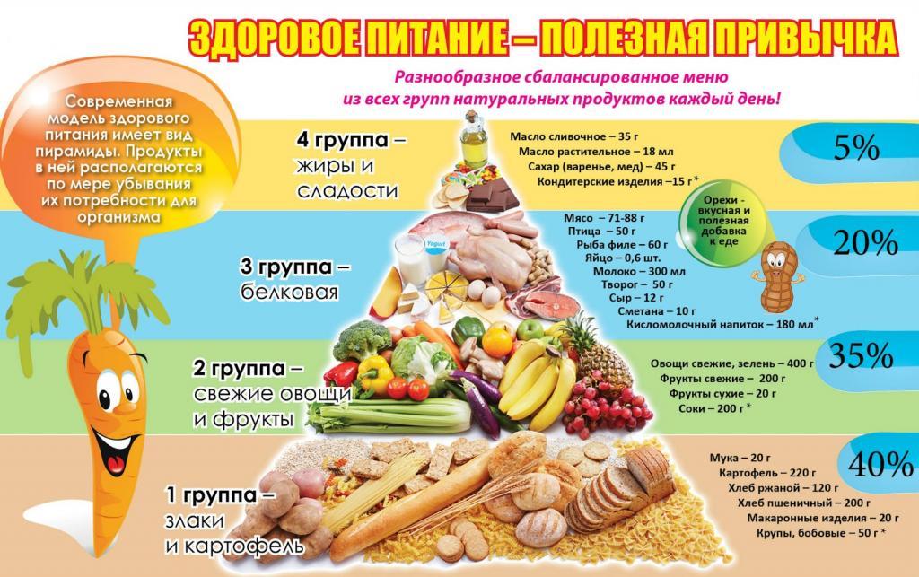 лучшее меню правильного питания для похудения