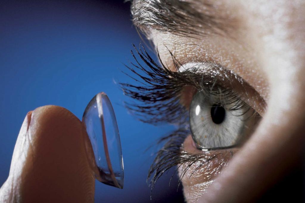 Подбор жестких контактных линз