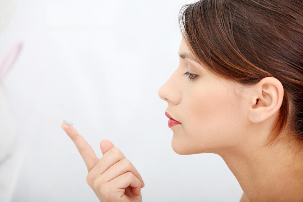 Коррекция зрения после ношения контактных линз